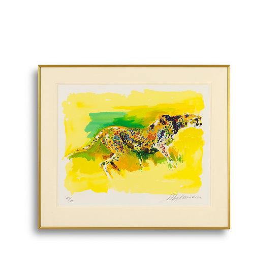"""Cheetah (The Safari Suite)"" by LeRoy Neiman"
