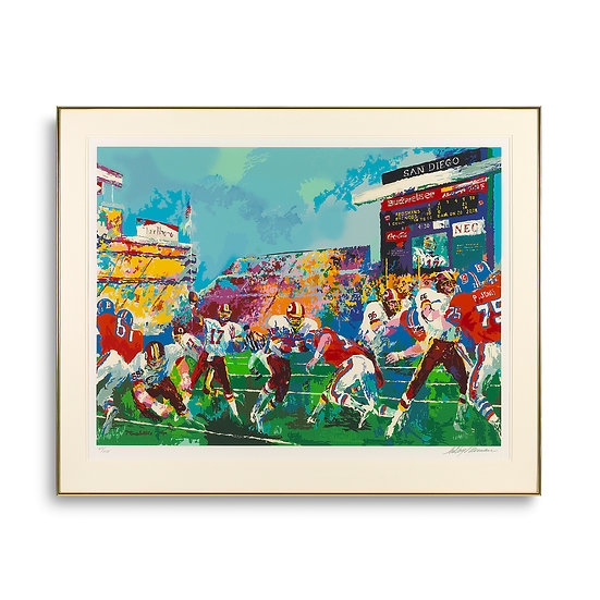 """""""In the Pocket"""" by LeRoy Neiman"""