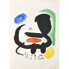 """""""Affiche pour la exhibition Miro, Sala Pelaires, Palma de Mallorca"""" by Joan Miro"""