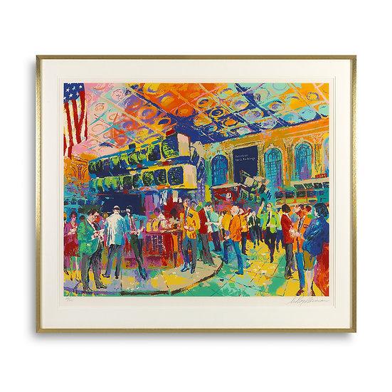 """The American Stock Exchange"" by LeRoy Neiman"