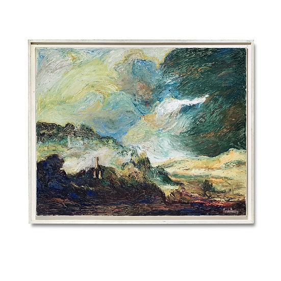 """Rembrandt, paysage du musée de Braunschweig"" by H. Claude Pissarro"