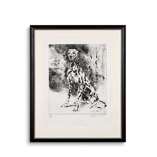 """Dalmation - Eaux Fortes Suite"" by LeRoy Neiman"
