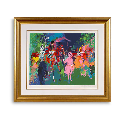 """""""Queen at Ascot"""" by LeRoy Neiman"""