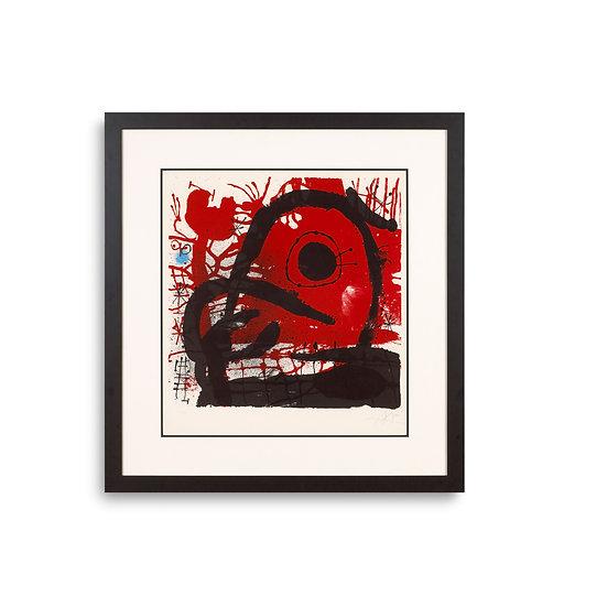 """L'equarrisseur a l'ouvrage"" by Joan Miro"
