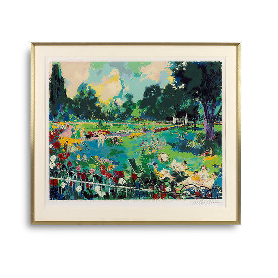 """Regent's Park"" by LeRoy Neiman"