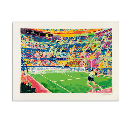 """""""Volvo Masters"""" by LeRoy Neiman"""