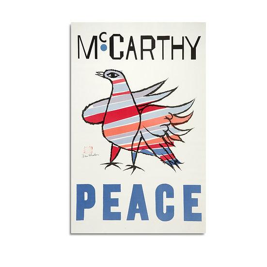 """""""McCarthy PEACE"""" by Ben Shahn"""