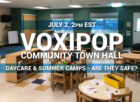 Community Town Hall - Daycare & Summer Camps: Are They Safe?