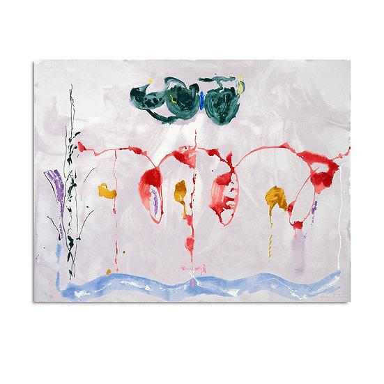 """Aerie"" by Helen Frankenthaler"