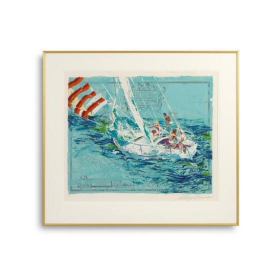 """Nantucket Sailing"" by LeRoy Neiman"