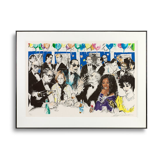 """Celebrity Night at Spago"" by LeRoy Neiman"