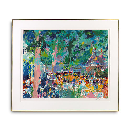 """Tavern on the Green"" by LeRoy Neiman"