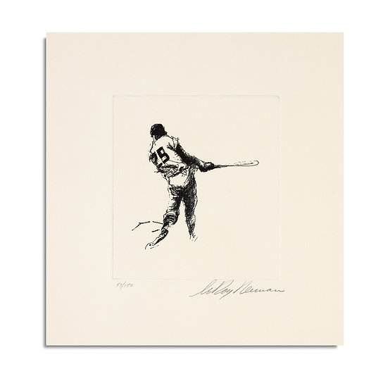 """""""Baseball Player Suite"""" by LeRoy Neiman"""