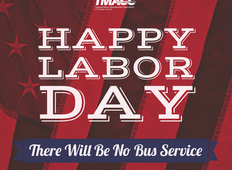 No Bus Service on Labor Day