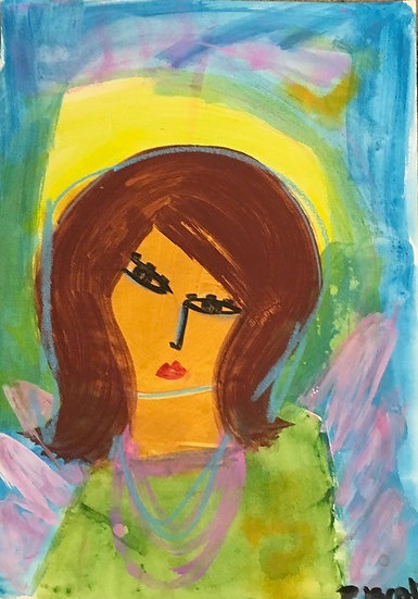"""""""Brown Haired Woman"""" by Rascal"""