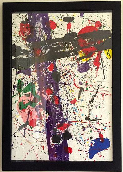 """Untitled"" by Sam Francis"