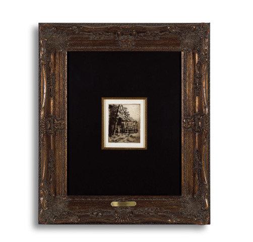 """""""Entree de Ferme rue Remy a Auvers"""" by Paul Cezanne"""