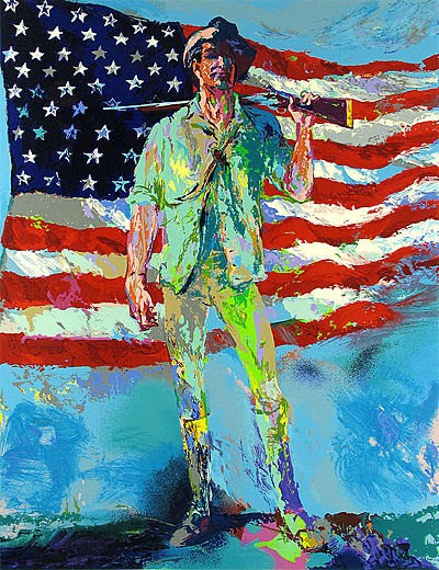 """The Minuteman"" by LeRoy Neiman"
