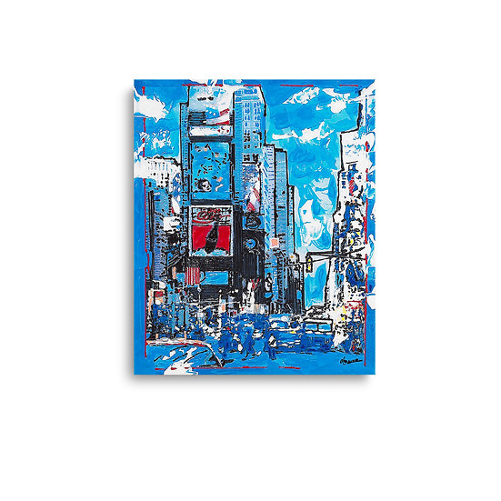 """""""Blue-Times Square"""" by Marco"""