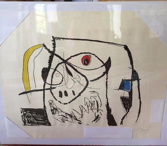 """Serie Mallorca Plate XII"" by Joan Miro"