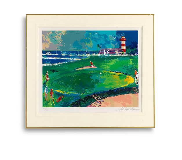 """18th at Harbour Town - Big Time Golf Suite"" by LeRoy Neiman"