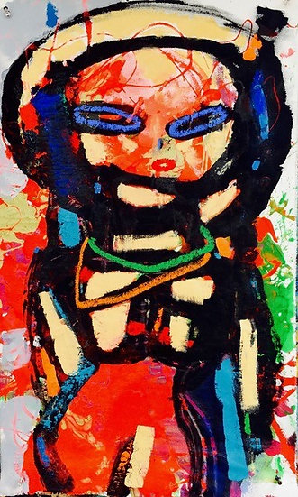 """""""Multi Colored Woman"""" by Rascal"""