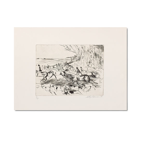 """Into the Open - Eaux Fortes Suite"" by LeRoy Neiman"
