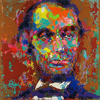 """Homage to Lincoln"" by LeRoy Neiman"