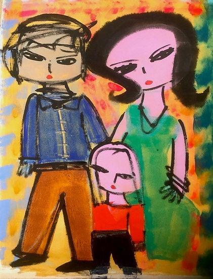 """Man, Woman and Child"" Rascal"