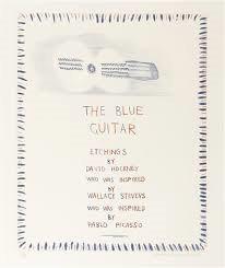 """Blue Guitar Suite"" by David Hockney"