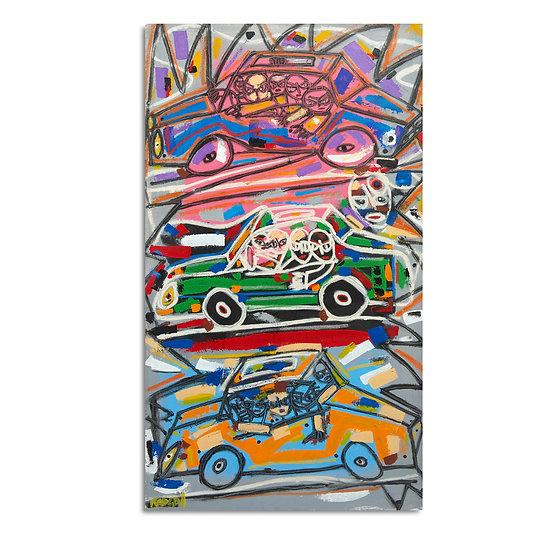 """3 Cars (Mixto)"" by Rascal"