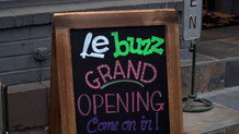 Le Buzz Ribbon Cutting
