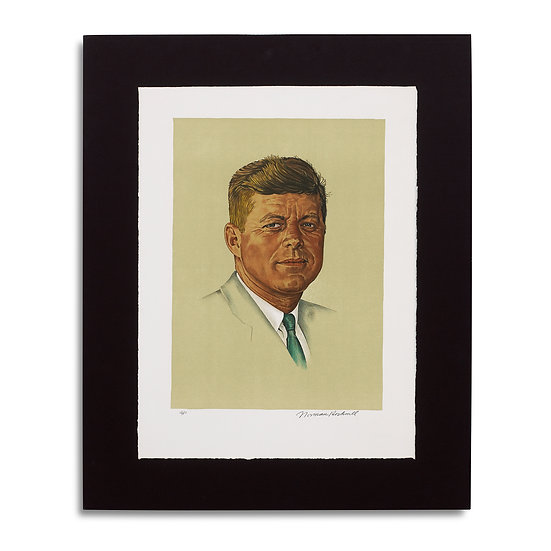 """John Kennedy"" by Norman Rockwell"