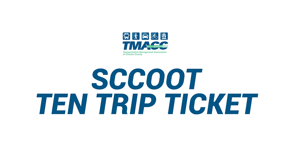 SCCOOT - Ten (10) Trip Ticket