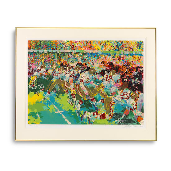 """Silverdome Superbowl"" by LeRoy Neiman"