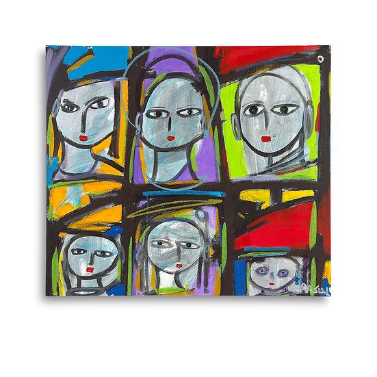 """6 Grey Heads"" by Rascal"