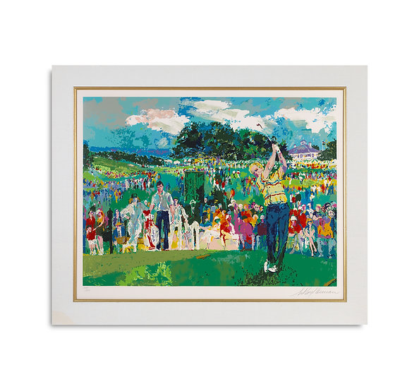 """April at Augusta"" by LeRoy Neiman"