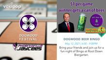 Dogwood Beer Bingo!
