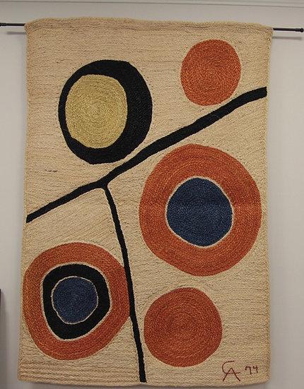 """Floating Circles"" by Alexander Calder"