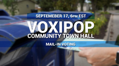 Community Town Hall - Mail-In Voting