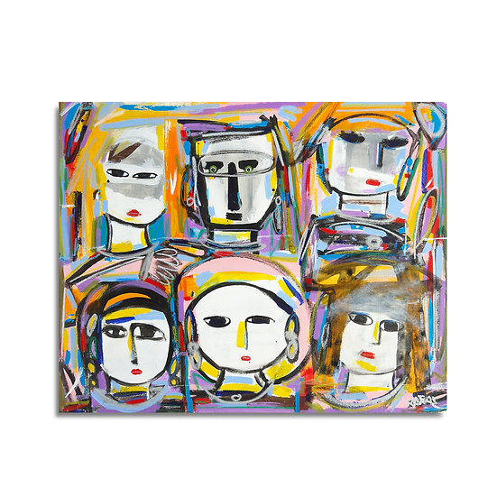 """Six Heads"" by Rascal"