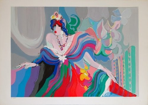 """Courtesan"" by Isaac Maimon"