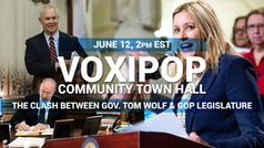 Community Town Hall - The Clash Between Gov. Tom Wolf & GOP Legislature