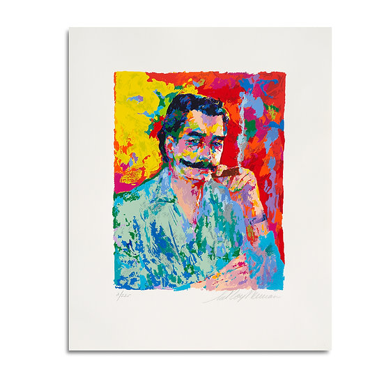 """The Artist"" by LeRoy Neiman"