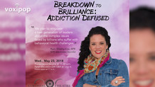 """""""Breakdown to Brilliance: Addiction Defused"""" Ryan Sheehy-Cox at the Colonial Theatre."""