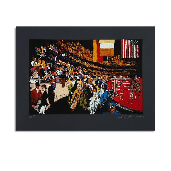 """International Horse Show, New York"" by LeRoy Neiman"
