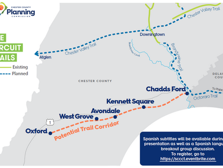 Southern Chester County Trail Feasibility Study