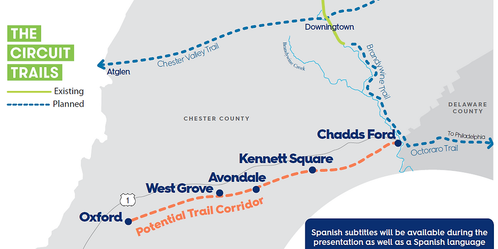 Southern Chester County Circuit Trail Feasibility Study