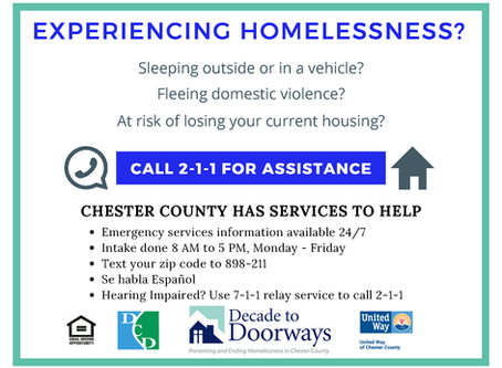 2-1-1 Homeless Coordinated Entry Call Center Now Operational