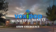 Municipal Minute - Snow Emergency
